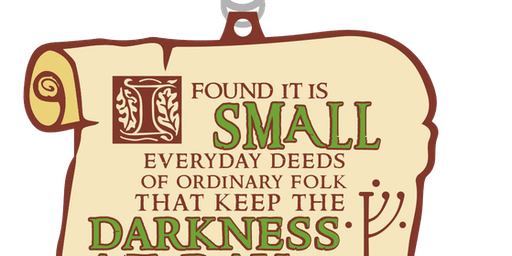 2019 Hobbit Day 1 Mile, 5K, 10K, 13.1, 26.2 -Des Moines