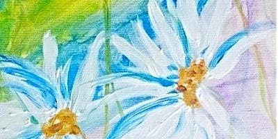 Paint Wine Denver Daisies in Flight Wed June 12th 6:30pm $35