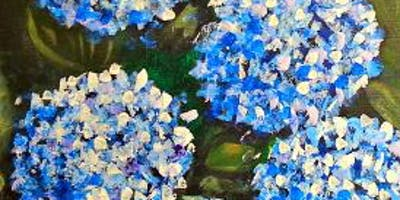 Paint Wine Denver Hydrangeas Wed June 26th 6:30pm $35