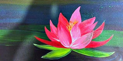 Paint Wine Denver Lotus Blossom Wed July 3rd 6:30pm $35