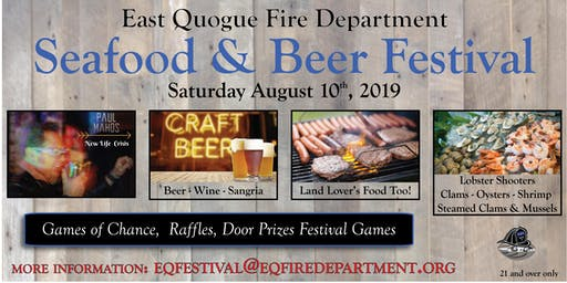East Qugoue Fire Department Seafood and Beer Festival