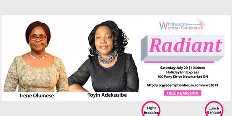 Wholesome Woman Conference 2019 tickets