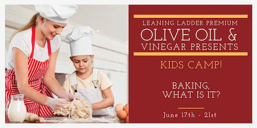June 17-21 Kid's Camp: Baking, What is It? - Ages 11 to 15