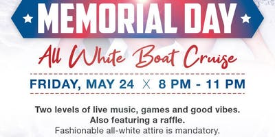 Holliwood's All White Birthday Boat Cruise Party