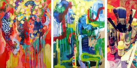 Abstract Painting Adventure with Color tickets