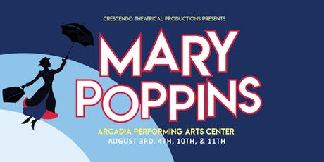 Mary Poppins 8/3 - 1:00 Show tickets
