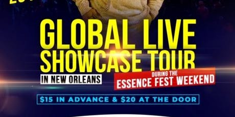 GLOBAL LIVE SHOWCASE TOUR tickets