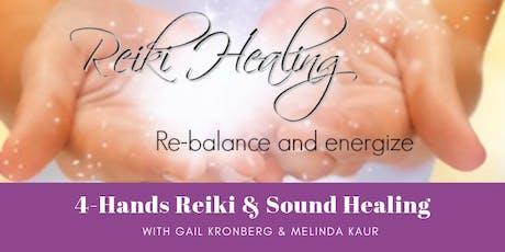 4 Hands Reiki & Sound Healing tickets