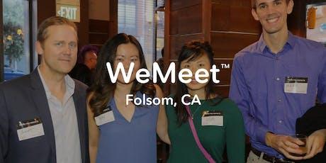 WeMeet Folsom Networking & Social Mixer tickets