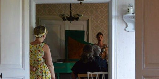 Salongskonsert med sopranen Petra Valman och pianisten Nanette N Stenholm