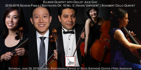 Schubert's Cello Quintet, Haydn's Emperor, Beethoven Op. 18, No. 3 tickets