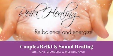 Couples Reiki & Sound Healing tickets