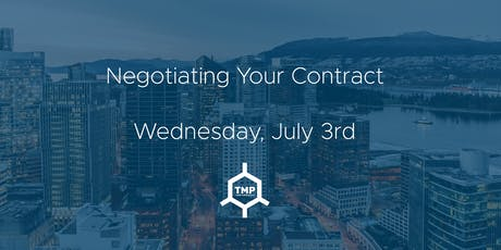 Negotiating Your Contract tickets