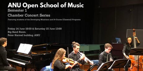 Chamber Concert Series - Semester 2 Recitals 8 & 9 November tickets