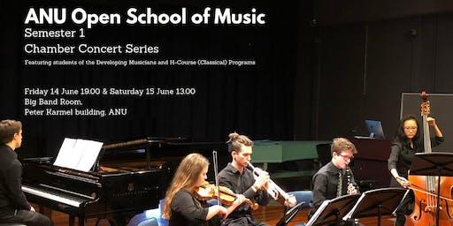 Chamber Concert Series - Semester 2 Recitals 8 & 9 November