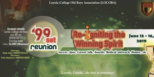 Loyola College '99 Set 20th Anniversary & Reunion