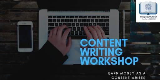 [Content Writing Workshop] - Earn Money as a Content Writer