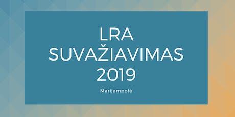 LRA suvažiavimas Marijampolėje 2019 tickets