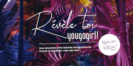 #YouGoGirl / événement entreprenariat féminin billets