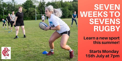 Seven Weeks to Sevens Rugby 2019