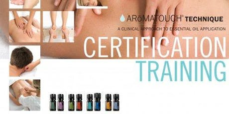 Certification Aroma Touch Technique - Perth WA tickets