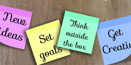 Visual Goal-Setting and Outside-The-Box Thinking Workshop tickets