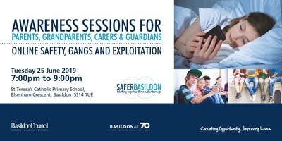 Awareness Session - Online Safety, Gangs and Exploitation
