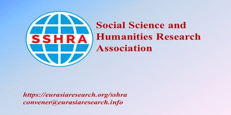 4th Singapore – International Conference on Social Science & Humanities (ICSSH), 13-14 November 2019 tickets