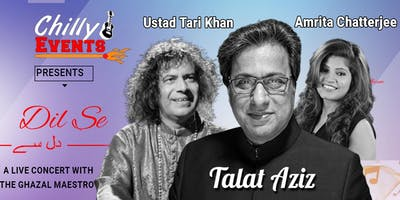 'Dil Se': A live concert (Leicester) with the Ghazal Maestro Talat Aziz and Ustad Tari Khan