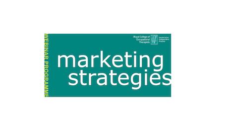 Marketing strategies (postponed until further notice) tickets