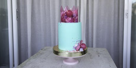 Sugar crown cake decorating master class Sydney tickets