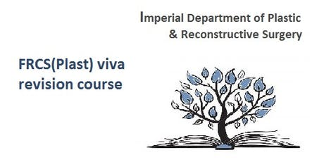 Imperial FRCS(Plast) viva revision course tickets
