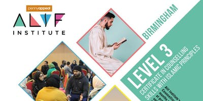Alif Institute Islamic Counselling Level 3 Birmingham