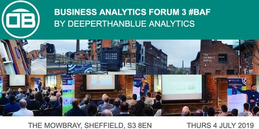 Business Analytics Forum 3 (#BAF)