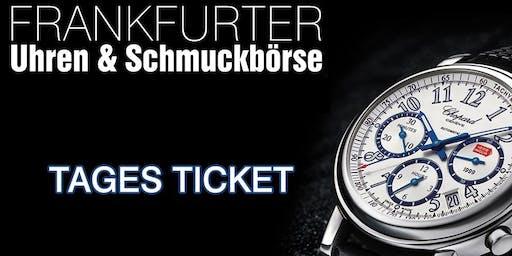 Uhren & Schmuckbörse in der Klassikstadt Frankfurt 20. Oktober 2019