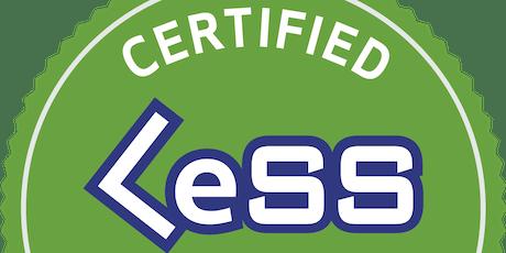 Certified LeSS (Large Scale Scrum) Basics Training bilhetes