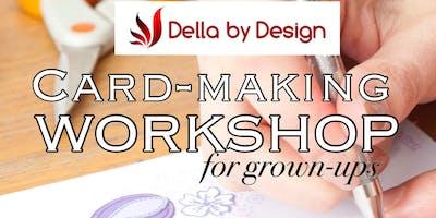 Card Making Workshop for Grown ups
