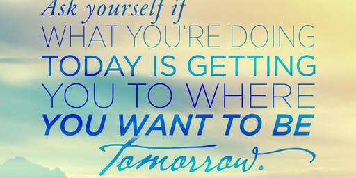 Build Your Tomorrow, Today