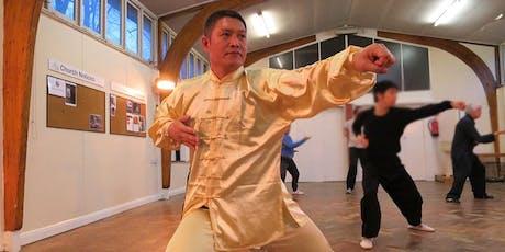 6 July: Chen Taijiquan 19 Form workshop with Shifu Liu tickets