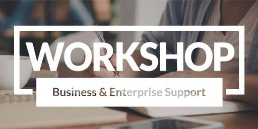 Workshop - Business Planning - A guide to a winning business plan