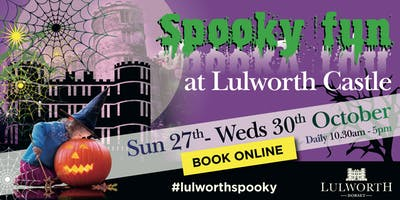 Spooky Fun at Lulworth Castle