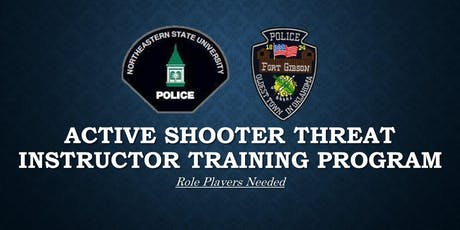 Role Players Needed: Active Shooter Threat Instructor Training Program tickets