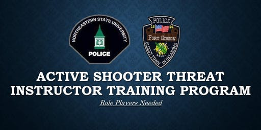 Role Players Needed: Active Shooter Threat Instructor Training Program