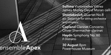 Ensemble Apex 02|19 'medium' tickets