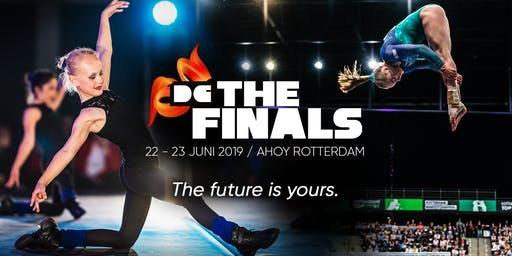 Crew parkeerticket zaterdag 22 juni- Dutch Gymnastics - The Finals