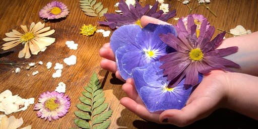 Pressed and Dried Botanical Art for Kids with Bee Shay