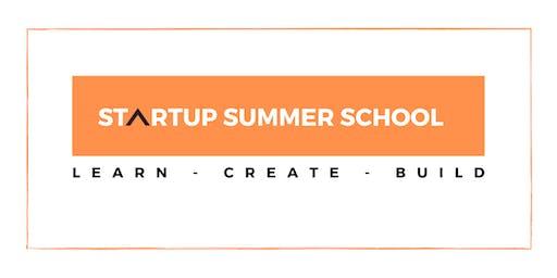 STARTUP SUMMER SCHOOL- SALES 101