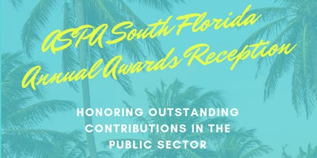 ASPA South Florida 2019 Annual Awards Reception tickets