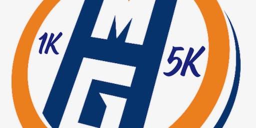 2nd Annual Mini-Hops Gymnastics 5K Trail Run or Walk