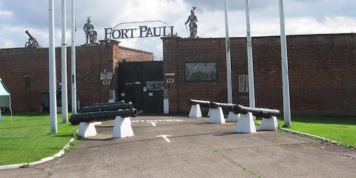 Ghost Hunt At Fort Paull Hull